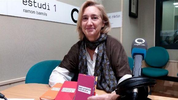 Susanna Pellicer, als estudis de Cugat.cat / Foto: Cugat.cat