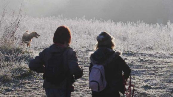 La cota de neu al litoral i prelitoral pot arribar als 200 metres / Foto: Web Ajuntament