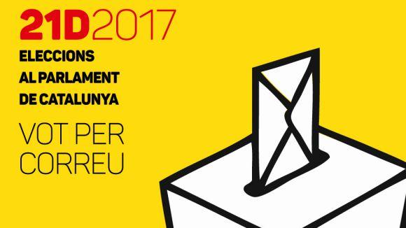 La Junta Electoral Central amplia el termini de votació per correu dins l'Estat fins al 18 de desembre