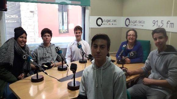 Els alumnes del Leonardo da Vinci que han participat a la secció