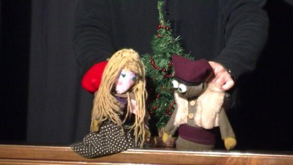 Can Ninot acosta la història d''Els Pastorets' als més petits amb una adaptació amb titelles