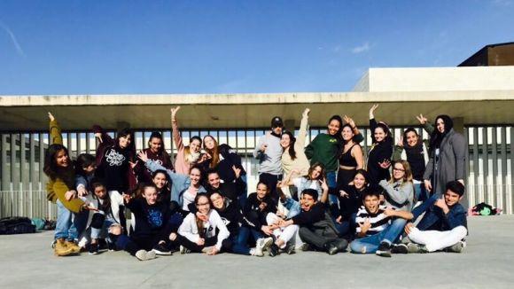 L'Escola Sant Cugat participa per primera vegada al festival HOP de danses urbanes