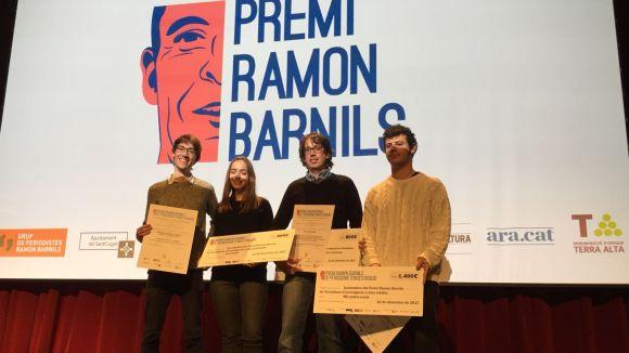 El Premi Ramon Barnils de periodisme d'investigació reconeix per primer cop un treball en clau local