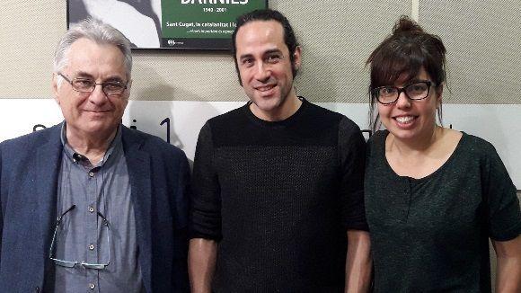 D'esquerra a dreta, Joan Gómez, Quimantú Segura i Aina Serra