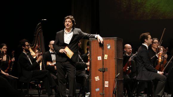 Marcel Gorgori presenta l'espectacle 'La rebotiga de l'òpera' / Foto: Tasantcugat.cat/
