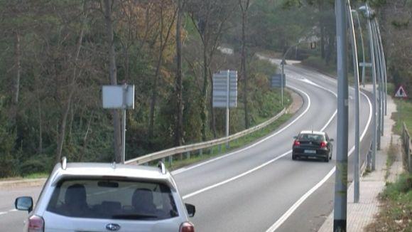 La Rabassada, de nou la carretera més perillosa de Catalunya segons el RACC