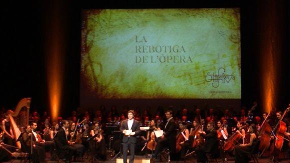 'La rebotiga de l'òpera' posa al descobert al Teatre-Auditori el treball d'un recital operístic