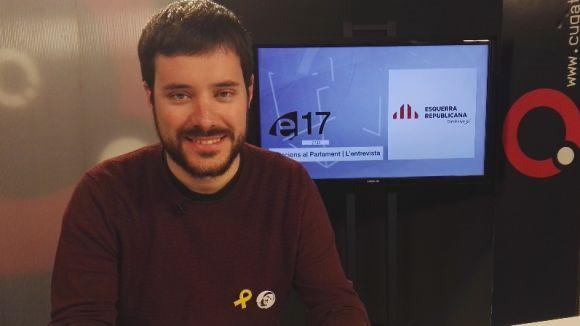 Bernat Picornell, al plató de Cugat.cat