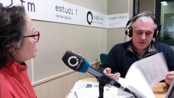 Carme Reverte i Lluís Cabal a l'espai 'Donem la nota!'