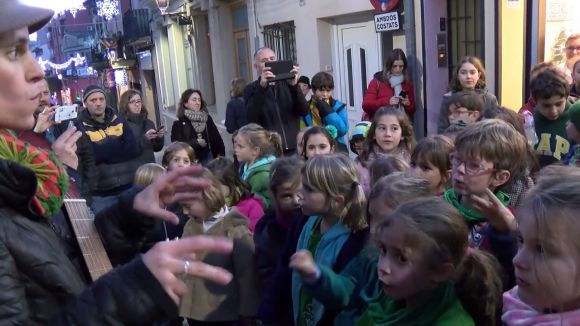 Un moment de les nadales al carrer de l'any passat