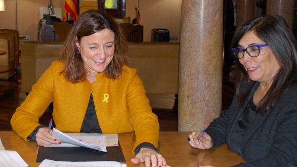 La Diputació signa un crèdit amb l'Ajuntament de 6,8 milions