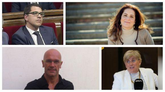 Espejo-Saavedra, Fernández-Jordán, Ponsatí i Romeva, els diputats santcugatencs del nou Parlament