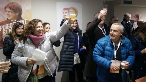JxCat guanya a Sant Cugat un 21D que 'legitima' el retorn del govern de Puigdemont