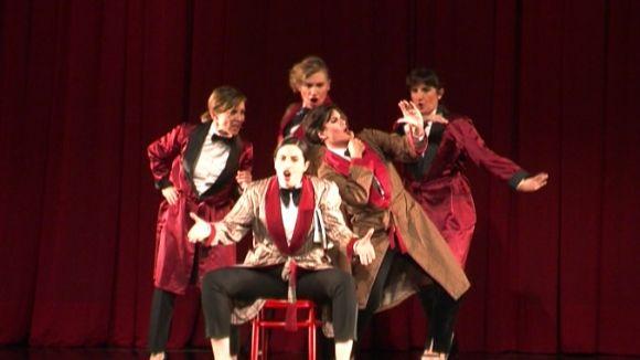 El Teatre-Auditori s'omple de ritme i rialles amb 'Homes! La comèdia musical'