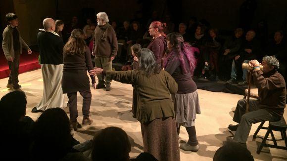 'Pedra i Sang' arrenca les representacions amb el poble com a protagonista d'enguany