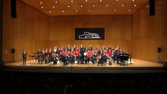 La Cantata de Nadal de Camerata Sant Cugat uneix música i escultura al Teatre-Auditori