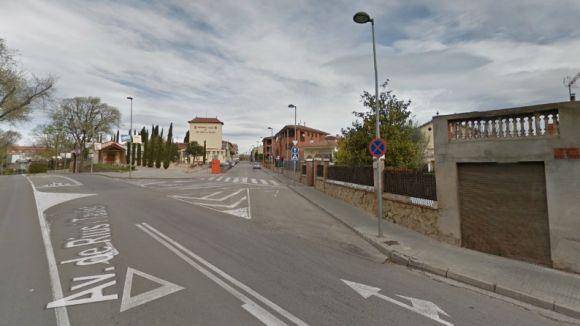 Afectacions al trànsit durant tota la setmana a la cruïlla entre les avingudes Rius i Taulet i Graells