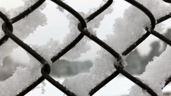 Reviu la nevada de Sant Cugat, en imatges