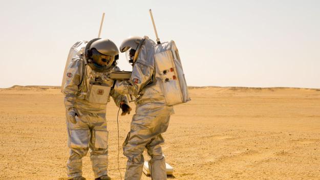 Un moment de 'Mars.Oman'