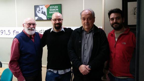 Eduard Jener, David Bozzo, Josep Ferré i Albert Flores
