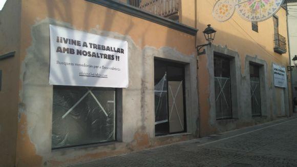 La cafeteria i fleca artesanal 365 busca personal per obrir al carrer de Santa Maria a mitjans de febrer