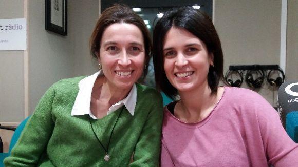 D'esquerra a dreta, Marta Cabasa i Sonia Maldonado