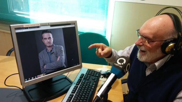 Joaquim Bundó, a la pantalla, i Eduard Jener