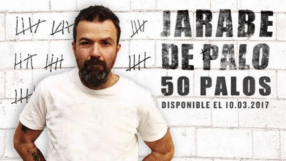 La portada del disc '50 palos' / Foto: Jarabe de Palo