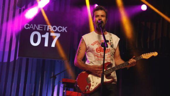 Pau Donés, a l'ecenari del festival Canet Rock de 2017 / Foto: ACN