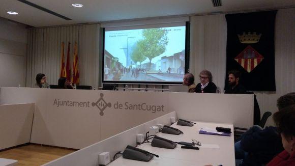 La primera fase de la vianantització de l'avinguda de Cerdanyola estarà llesta d'aquí a un any
