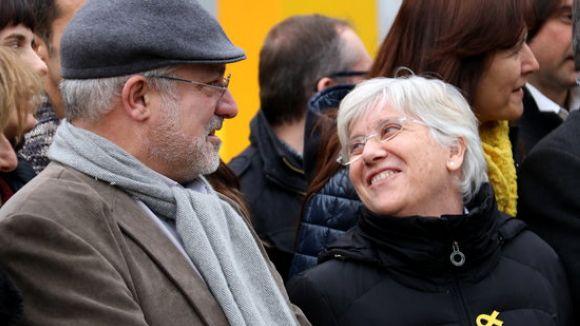 Clara Ponsatí i Lluís Puig presenten les credencials al Parlament