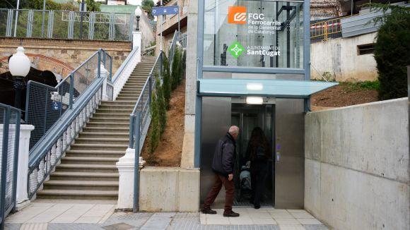 El nou caixer del BBVA de la Floresta s'ubicarà al vestíbul de l'estació