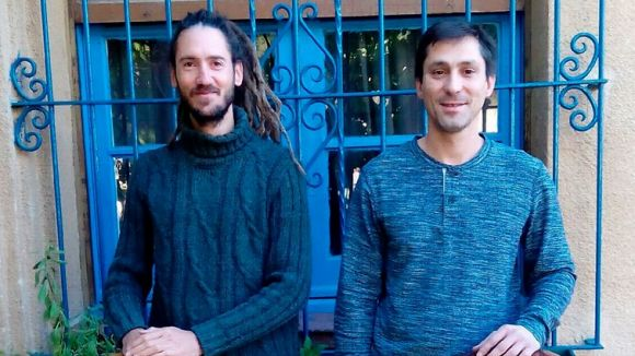 Lenadro Weller i Marc Menier formen el duet / Foto: Ateneu