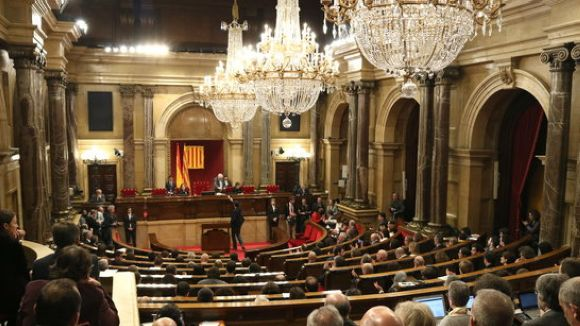 Constituït el Parlament de la dotzena legislatura amb quatre diputats de Sant Cugat