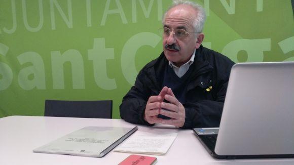 Joan Puigdomènech ha presentat la proposta d'ordenances en roda de premsa