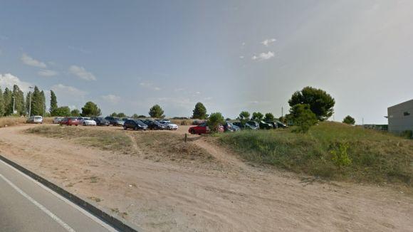 L'aparcament es troba a l'avinguda de Roquetes / Foto: Google Maps