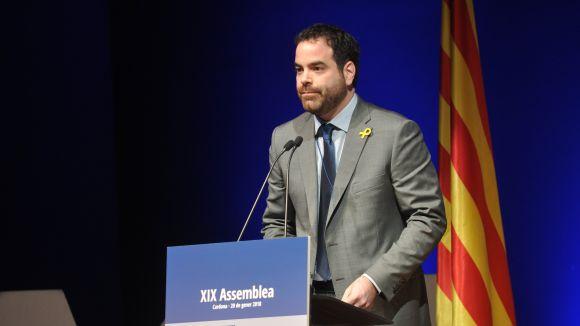 David Saldoni, nou president de l'Associació Catalana de Municipis i Comarques