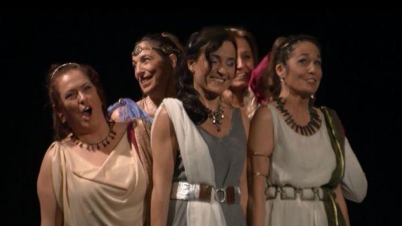 Les Xandrines són una formació de set dones mares de l'escola Pi d'en Xandri