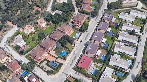 El barri de Can Trabal / Foto: Google Maps