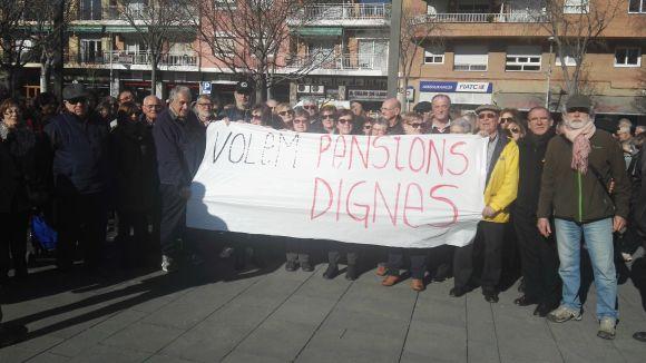 La Plataforma de Pensionistes reuneix tots els partits del ple per debatre sobre prestacions