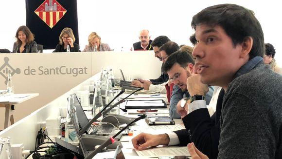 La moció sobre transfuguisme de la CUP-PC crea un debat sobre la legitimitat dels vots dels regidors no adscrits
