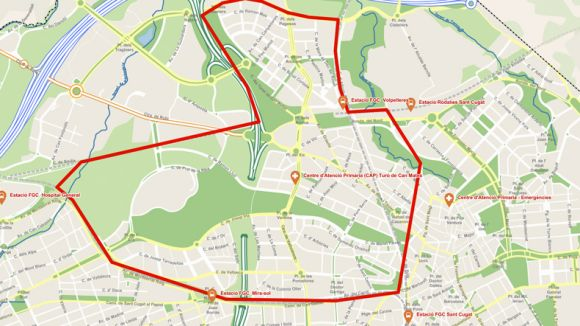 Reforç policial temporal a Parc Central, Can Vernet, Can Mates i Volpelleres per prevenir robatoris a llars