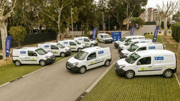 Sorea incorpora 25 vehicles elèctrics a la seva flota i pretén arribar als 114 aquest any