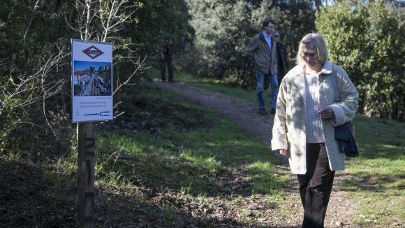 El centenari de l'arribada del tren a Sant Cugat marca la 14a edició del Bosc Literari