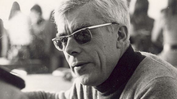 Gabriel Ferrater, en una imatge d'arxiu