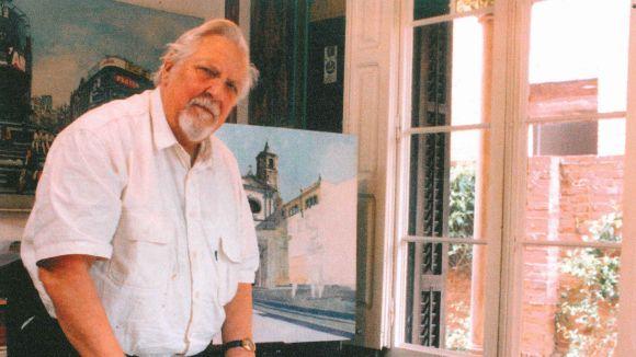 Rudolf Häsler, el pintor del número 3 del carrer de Villà
