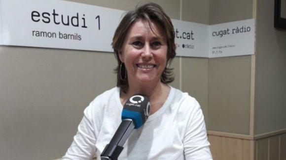 La ginecòloga Emma Esteve en el programa de ràdio Sant Cugat a Fons