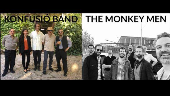 Konfusió Band assaja a Sant Cugat i The Monkey Men a Barcelona / Foto: Santcugat.cat