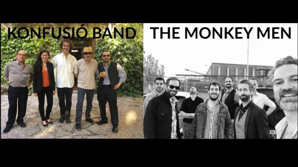 La Pua en directe: Konfusió Band + The Monkey Men