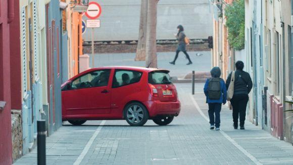 Nou sistema per accedir al centre vianantitzat amb vehicle